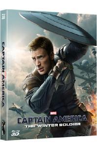 캡틴 아메리카: 윈터솔져 3D+2D [풀슬립 A2 스틸북 한정판] [CAPTAIN AMERICA: THE WINTER SOLDIER]