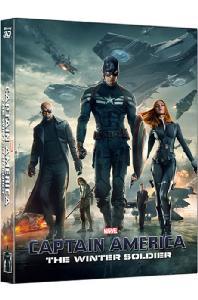 캡틴 아메리카: 윈터솔져 3D+2D [렌티큘러 스틸북 한정판] [CAPTAIN AMERICA: THE WINTER SOLDIER]
