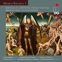 MUSICA BALTICA 1 - BAROQUE CANTATAS FROM GDANSK/ ANDRZEJ SZADEJKO [SACD HYBRID] [단치히의 칸타타: 안제이 자드코]