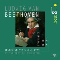 SYMPHONIES 4 & 7/ STEFAN BLUNIER [SACD HYBRID] [베토벤: 교향곡 4&7번 - 슈테판 블루니어]