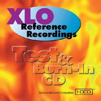 TEST & BURN IN CD: XLO REFERENCE RECORDINGS