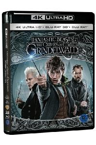 신비한 동물들과 그린델왈드의 범죄 [4K UHD+3D+2D] [FANTASTIC BEASTS: THE CRIMES OF GRINDELWALD]