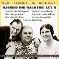 DIE WALKURE ACT 2/ FRITZ REINER