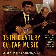 19TH CENTURY GUITAR MUSIC/ LUIGI ATTADEMO [루이지 아타데모: 19세기 기타 작품집]