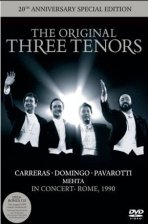 THE ORIGINAL THREE TENORS: IN CONCERT ROME 1990/ ZUBIN MEHTA [DVD+CD]
