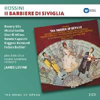 IL BARBIERE DI SIVIGLIA/ JAMES LEVINE [THE HOME OF OPERA] [로시니: 세빌리아의 이발사 - 레바인]
