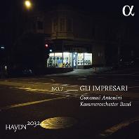 GLI IMPRESARI/ GIOVANNI ANTONINI [하이든 2032 프로젝트 7집: 교향곡 67, 65 & 9번]