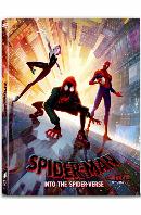 스파이더맨: 뉴 유니버스 4K UHD+BD [A 풀슬립 스틸북 한정판] [SPIDER-MAN : INTO THE SPIDER-VERSE]
