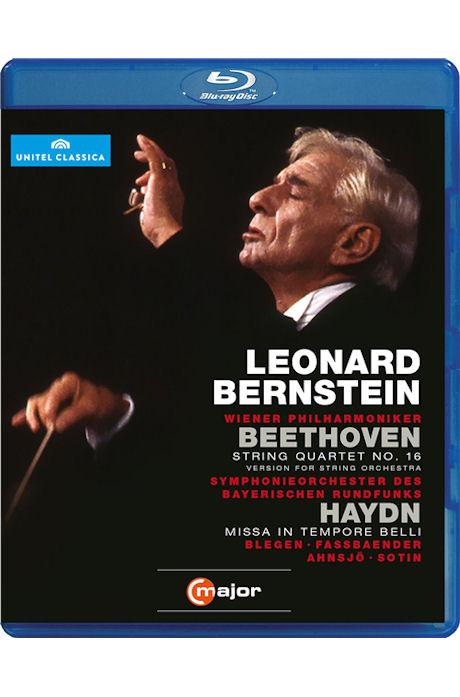 STRING QUARTET NO.16 & MISSA IN TEMPORE BELLI/ <!HS>LEONARD<!HE> BERNSTEIN [베토벤: 현악사중주 16번] [블루레이 전용플레이어 사용]