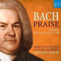 CANTATAS BWV 26, 41, 95, 115, 137, 140/ CHRISTOPH SPERING [바흐: 칸타타 - 크리스토프 슈페링]