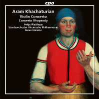 VIOLIN CONCERTO, CONCERTO RHAPSODY/ ANTJE WEITHAAS, DANIEL RAISKIN [하차투리안: 바이올린 협주곡, 랩소디 협주곡 - 안티에 바이타스]
