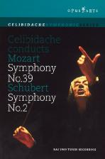 CELIBIDACHE CONDUCTS MOZART & <!HS>SCHUBERT<!HE>
