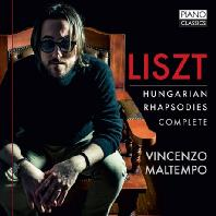 HUNGARIAN RHAPSODIES COMPLETE/ VINCENZO MALTEMPO [리스트: 헝가리 광시곡]