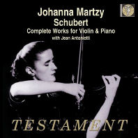 SCHUBERT COMPLETE WORKS FOR VIOLIN & PIANO/ JEAN ANTONIETTI