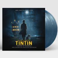 THE ADVENTURES OF TINTIN: TINTIN: THE SECRET OF THE UNICORN [틴틴의 모험: 유니콘호의 비밀] [180G CLEAR BLUE & GOLD MIXED LP]