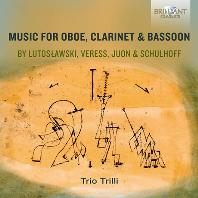MUSIC FOR OBOE, CLARINET & BASSOON/ TRIO TRILLI [20세기 작곡가 4인: 목관 3중주 - 트리오 트릴리]