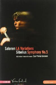 LA VARIATIONS & SYMPHONY NO.5/ <!HS>ESA-PEKKA<!HE> SALONEN [살로넨: LA 변주곡 & 시벨리우스: 교향곡 5번]
