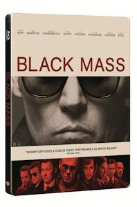 블랙 매스 [스틸북 한정판] [BLACK MASS]